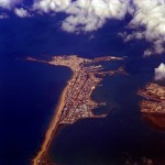 Aerial photo of Cadiz