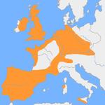 Mapa mudo de la provincia de Almería