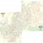 Mapa político mudo de Madrid 2007