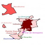 Mapa de la provincia de Toledo 1847