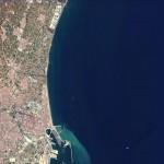Imagen satelital de Valencia 2005