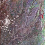 Satellite image of the Madrid region 2003