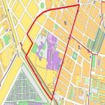 Mapa de los Centros Industriales de Rumania