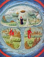 Mapa histórico - Tierra Plana