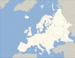 Mapa Mudo de Europa