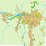 Mapa de Gerona