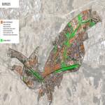 Áreas peatonales de Burgos