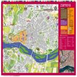 Mapa turístico de Zamora 2009