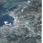 Mapa satelital de Villagarcía de Arosa