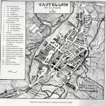 Castellón de la Plana map 1852