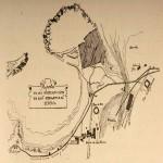 Plano de las inmediaciones de San Sebastián 1860