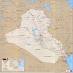 Mapa Político de Irak 2003