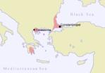 The Byzantine Empire circa 1400