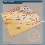 Características físicas de Irak 2003