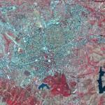 Mapa satelital de Tirana