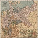 Mapa Politico de República Democrática del Congo (Zaire)