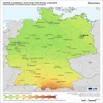 Mapa de Las ciudades, paisajes y ríos más importantes de Sajonia en el 2008
