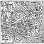 Map of Hamburg 1932