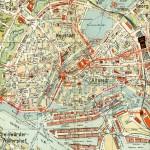 Highland Park and Waukegan City Map, Illinois, United States 1920