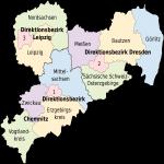 Mapa de Sajonia 2008