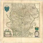 San Pedro Department Map, Paraguay