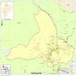 Mapa Politico Pequeña Escala de Laos