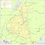 Mapa de Los Ríos 2010
