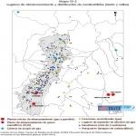 Mapa de Almacenamiento y distribución de combustibles en Quito 2000-2001