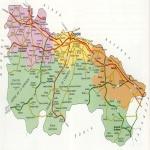 Mapa de carreteras de La Rioja