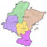 Municipal map of Navarre 2008