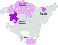 Mapa de la Región de Ammán, Jordania