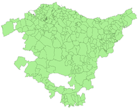 Municipalities of the Basque Country 2003