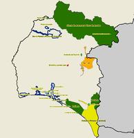 Mapa de Subdivisiones de Bremerhaven 2010
