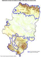 Mapa Físico de Oriente Medio 2003