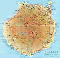 Mapa Político Pequeña Escala de Haití