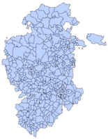 Municipalities of the Province of Burgos 2003