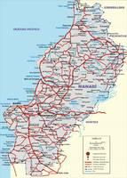 Mapa del Archipiélago de las Perlas 1979