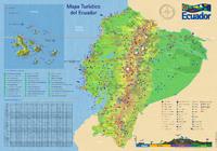 Mapa de carreteras de Azuay