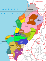 Cantons of Manabí 2011