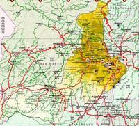 Mapa de Quetzaltenango