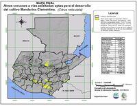 Mapa de carreteras de Orellana