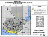 Mapa mudo de la Provincia de Las Palmas