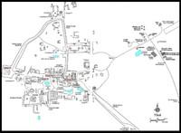 Map of Tikal