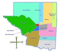 Prototipo de Mapa Topográfico de Rigolets, Luisiana, Estados Unidos, Septiembre 12, 2005