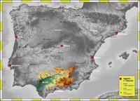 Mapa de carreteras de la Provincia de Burgos