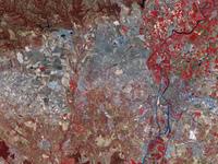 Mapa Satelital de la Ciudad de São Paulo, Brasil