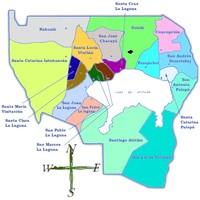 Mapa de Aldeas Dañadas o Destruidas, Darfur, Sudán, Agosto 2, 2004