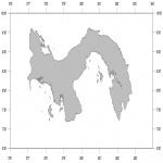 Mapa mudo de Panamá