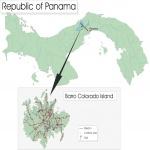 Mapa Politico Pequeña Escala de Birmania (Myanmar)