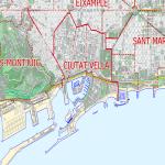 Mapa Político Pequeña Escala de San Vicente y las Granadinas